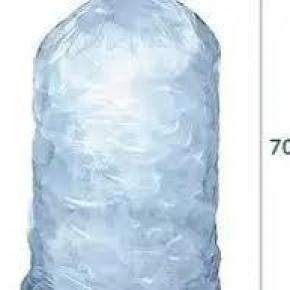 Embalagem para gelo em cubo