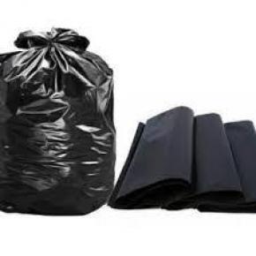 Fabrica de sacos de lixo preto